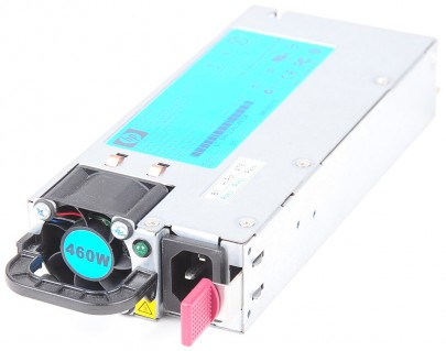 HP 460 Watt Netzteil / Power Supply - DL360 / DL380 G6 / G7, ML350 / ML370 G6, DL370 G6, DL180 G6 - 511777-001