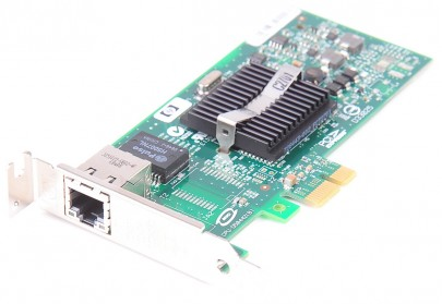 HP NC110T Single Port Gigabit Server Adapter / Netzwerkkarte PCI-E - 434982-001 - low profile