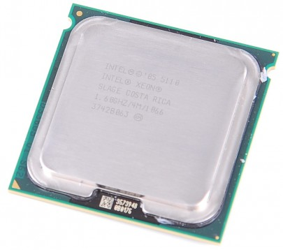 INTEL XEON 5110 SLAGE Dual Core CPU 2x 1.6 GHz / 4 MB L2 / 1066 MHz FSB / Socket 771