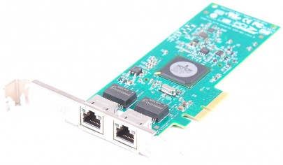 HP NC382T Dual Port Gigabit Server Adapter / Netzwerkkarte PCI-E - 458491-001