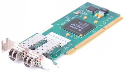 IBM HHBA-5418B-S01 Agilent 2 Gbit/s Dual Port Fiber PCI-X - low profile