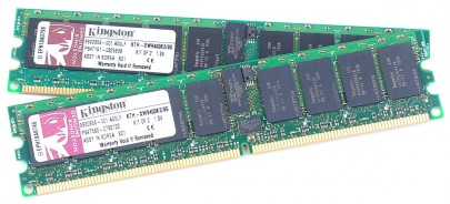 KINGSTON 8 GB Kit (2x 4 GB) PC2-5300 DDR2 RAM REG ECC KTH-XW9400K2/8G