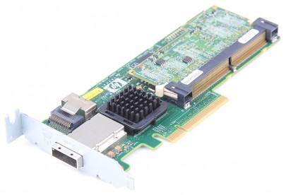 HP Smart Array P212 RAID Controller 6G SAS / 3G SATA with 256 MB BBWC Cache, PCI-E - 462594-001 - low profile