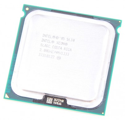 INTEL XEON 5130 Dual Core CPU 2x 2.0 GHz / 4 MB Cache / 1333 MHz FSB / Socket 771