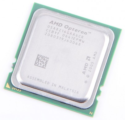 AMD OPTERON 8216 Dual Core CPU OSA8216GAA6CR / 2x 2.4 GHz / 2x 1MB L2 / Socket F