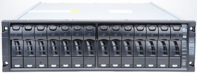 NetApp DS14 MK2 AT Disk Shelf inkl. 14x 1 TB 7.2k SATA Festplatten + 2x AT-FCX