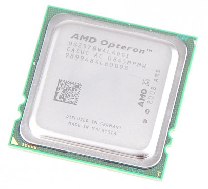 AMD OPTERON 2378 Quad Core CPU OS2378WAL4DGI  / 4x 2.4 GHz / 6 MB L3 / Socket F