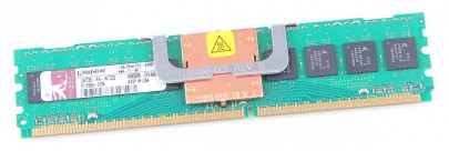 Kingston RAM Modul 1 GB 2Rx8 PC2-4200F-444-11 ECC FB-DIMM