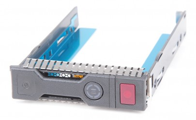 "HP 3.5"" SAS / SATA Hot Swap Festplatten-Rahmen / Hard Disk Tray - ProLiant Gen8 / Gen9 - 651314-001"