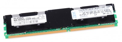 IBM RAM Modul FB-DIMM 4 GB PC2-5300F ECC 2Rx4 39M5796