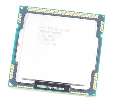 Intel XEON X3430 SLBLJ Quad Core CPU 2.40 GHz / 8 MB L3 / Socket LGA1156