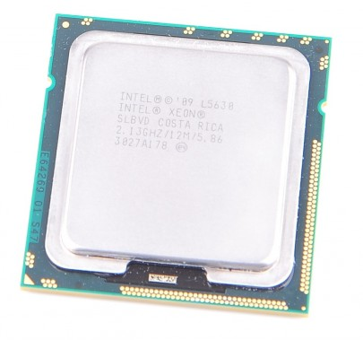 Intel Xeon L5630 SLBVD Quad Core CPU 4x 2.13 GHz, 12 MB Cache, 5.86 GT/s, Socket 1366