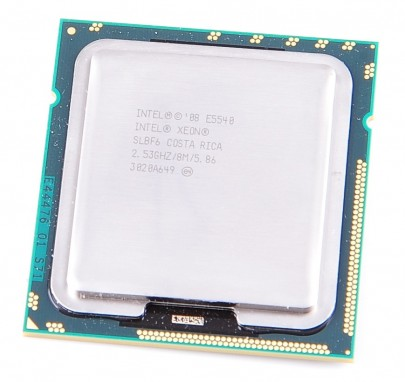 Intel Xeon E5540 SLBF6 Quad Core CPU 4x 2.53 GHz, 8 MB Cache, 5.86 GT/s, Socket 1366