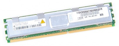 IBM RAM Modul FB-DIMM 1 GB PC2-5300F ECC 1Rx8 46C7421