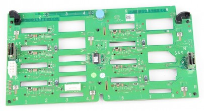 "DELL 8x 3.5"" SAS Festplatten / Hard Disk Backplane Board - PowerEdge T610, T710 - 0F313F / F313F"