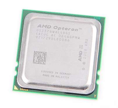 AMD OPTERON 2376 Quad Core CPU 0S2376WAL4DGI / 4x 2.3 GHz / 4x 512KB L2 / 6 MB L3 / Socket F
