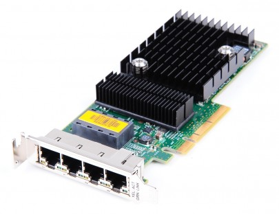 Sun 4 Port Gigabit PCI-E Netzwerkkarte 501-7606 - low profile