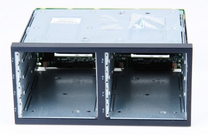 "HP DL380 G6 Additional Second HDD Drive Cage for 8x 2.5"" Hard Drives 496074-001 incl. Backplane 507690-001"