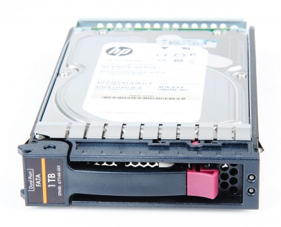 "HP 1000 GB / 1 TB Dual Port 7.2K EVA FATA 3.5"" Hot Swap Hard Drive - 671148-001 / AG691B"