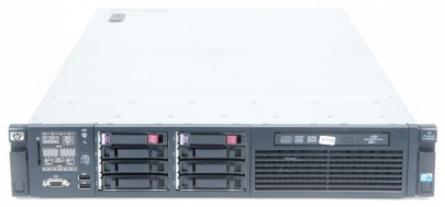 HP ProLiant DL380 G6 Server 2x Xeon X5550 Quad Core 2.66 GHz, 16 GB RAM, 2x 146 GB SAS