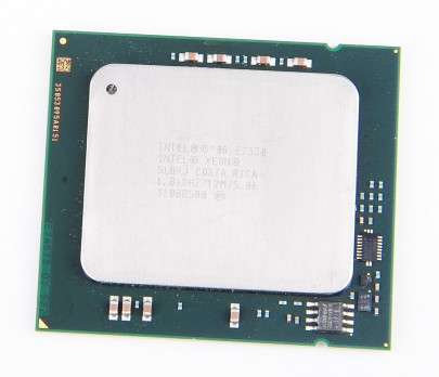 Intel Xeon E7530 SLBRJ Six Core CPU 6x 1.86 GHz, 12 MB Cache, 5.86 GT/s, Socket 1567