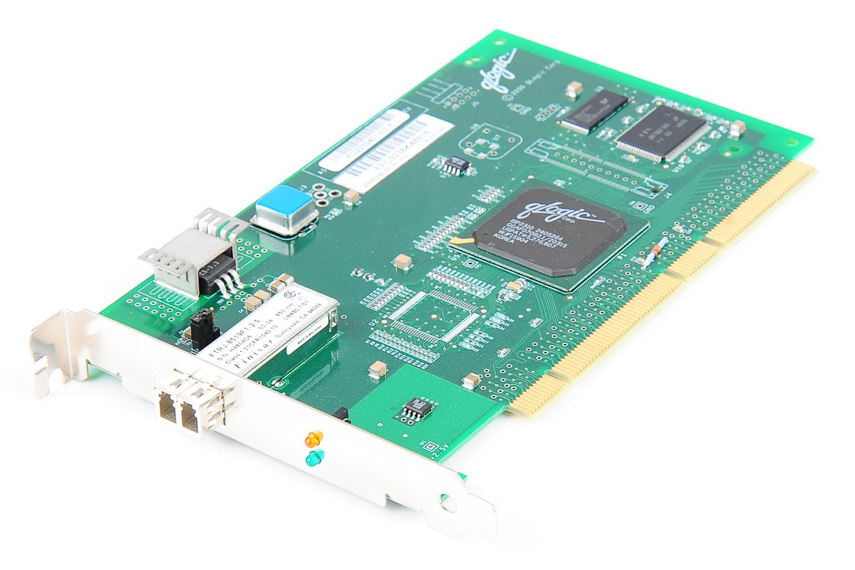 Qlogic QLA2310F FC Fibre Channel SFP HBA 2 Gbit/s PCI-X