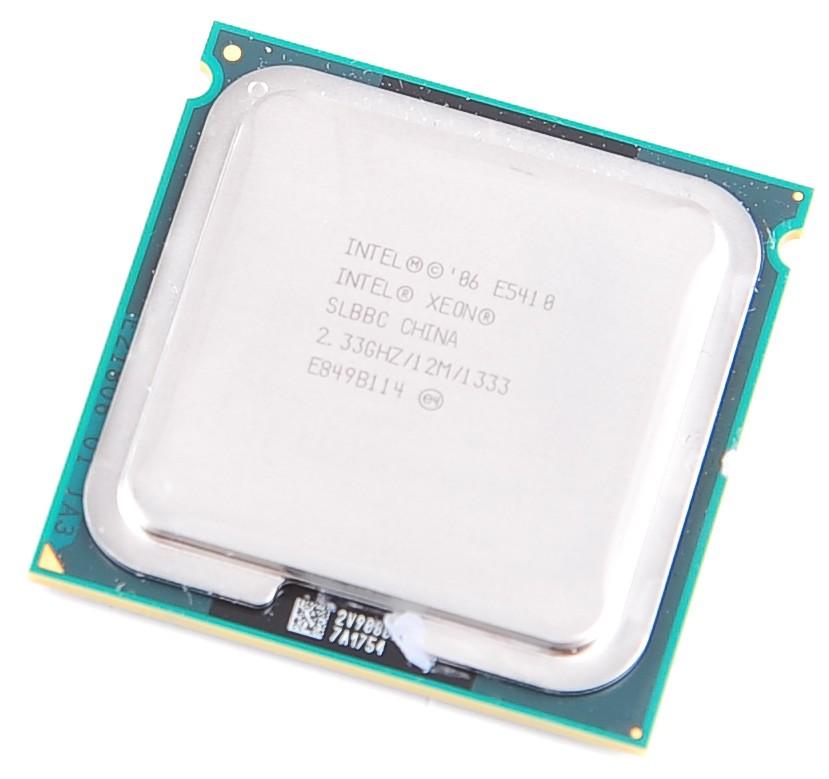 INTEL XEON E5410 SLBBC Quad Core CPU 4x 2.33 GHz / 12 MB L2 / 1333 ...