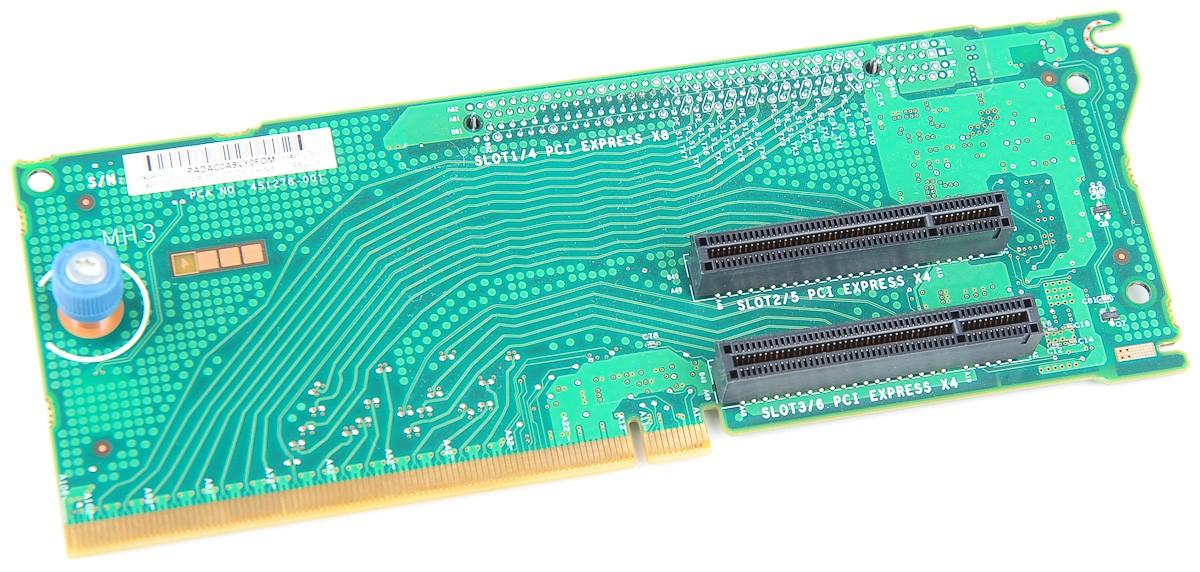 Expansion Slot Riser Board / Card, 3x PCI-E - ProLiant DL380 G6 / G7 - 496057-001