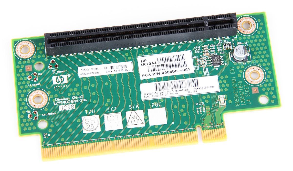 DL180 G6 / SE326M1 PCI-E Riser Card 507258-001