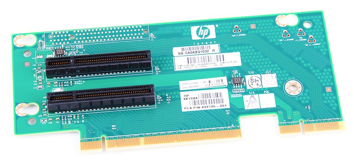 Riser Card / Board, 2x PCI-E - ProLiant DL180 G6, SE326M1 - 516803-001