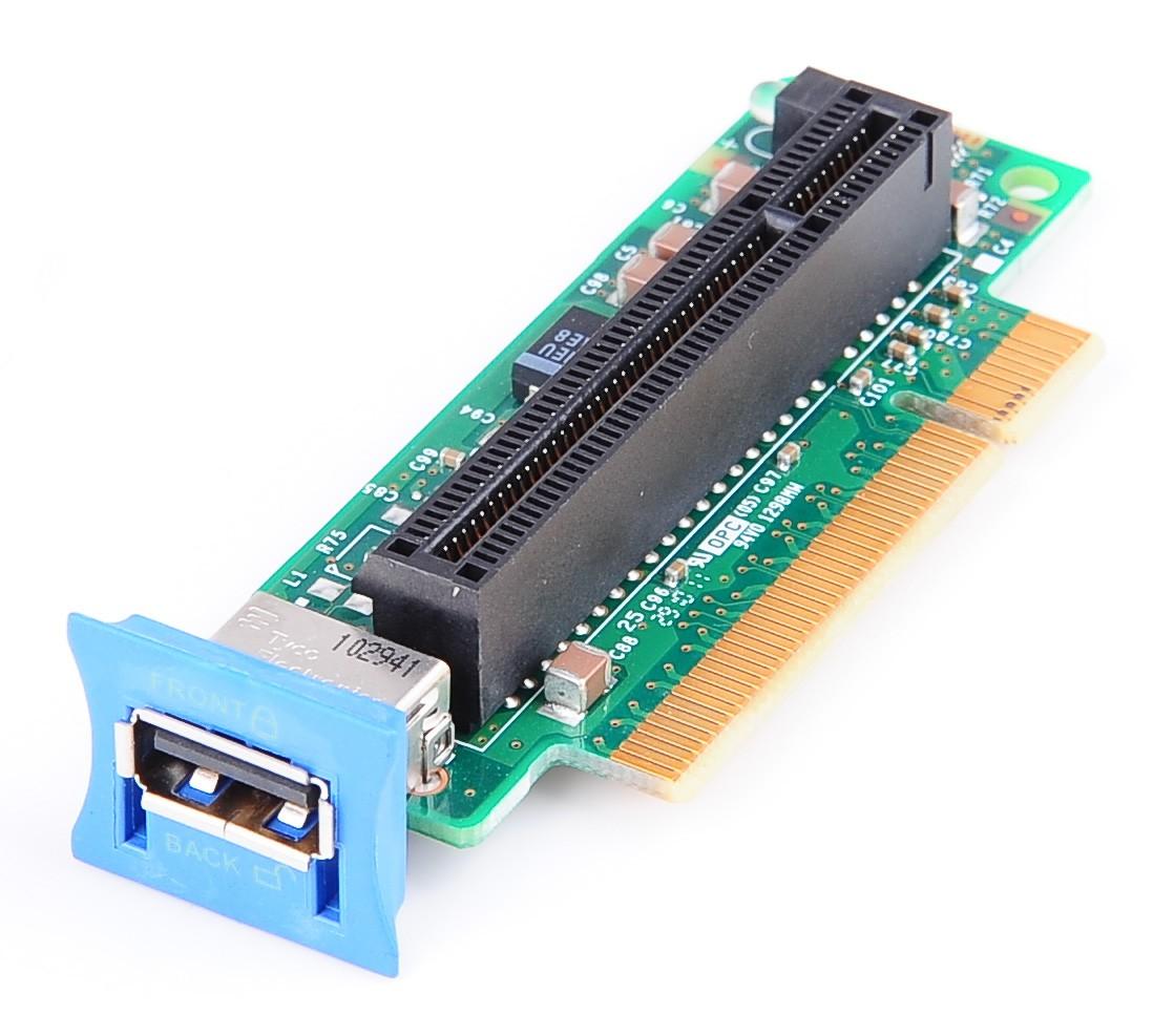 Riser Board / Card, 1x PCI-E with USB - x3650 M2 / M3 - 43V7067