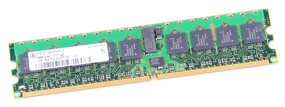Infineon RAM Modul DDR2 1 GB PC2-3200R 1Rx4 ECC