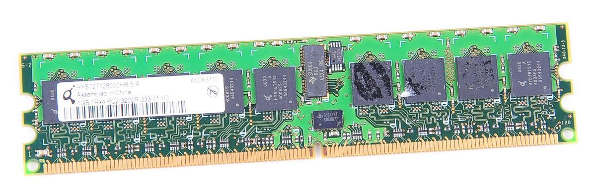 Qimonda 1 GB 1Rx4 PC2-3200R DDR2 RAM Modul ECC