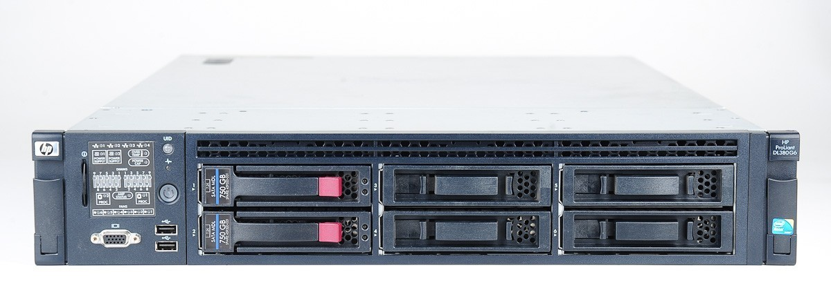 HP ProLiant DL380 G6 2x Xeon X5650