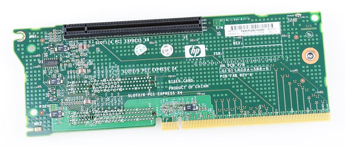 Proliant DL385 G6 PCI-E Riser Card - 507691-001